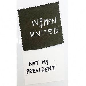 Accessories - Feminist Patch Set - Not my president / Women unit